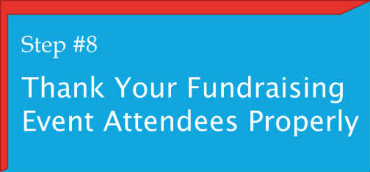 #8. Thank Fundraising Event Attendees Properly
