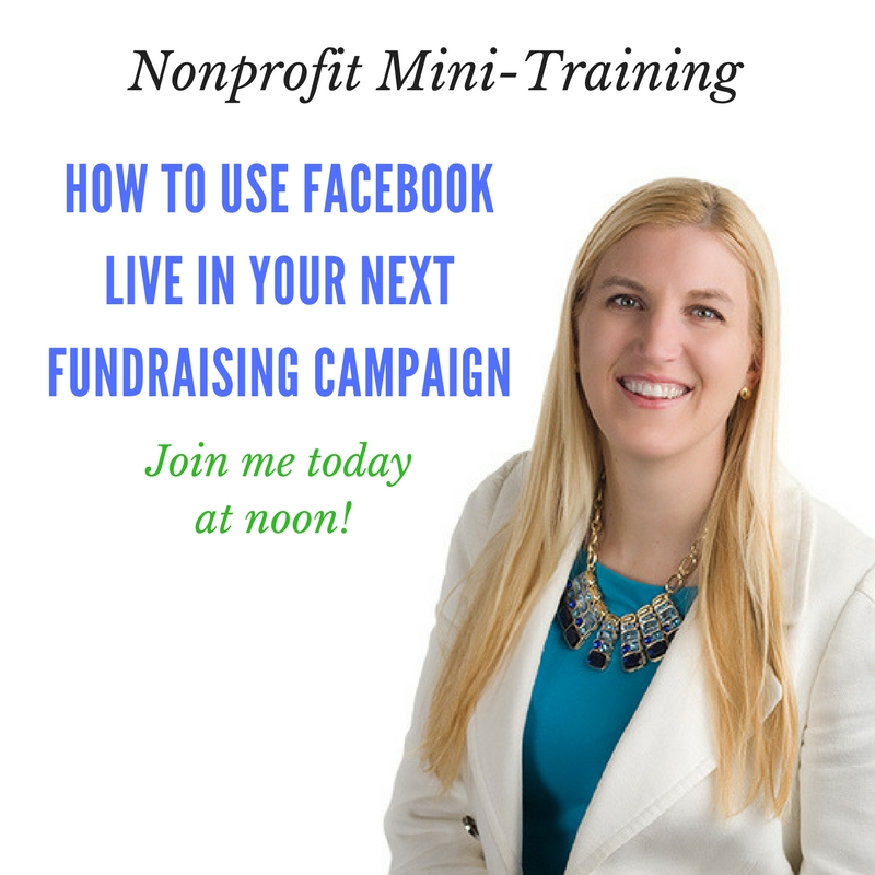 5 Ways to Use Facebook Live In Your Next Fundraising Campaign